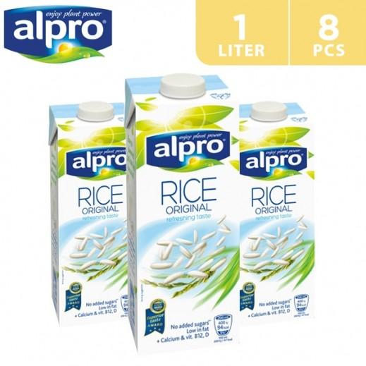 Alpro Rice Original 8 x 1 L