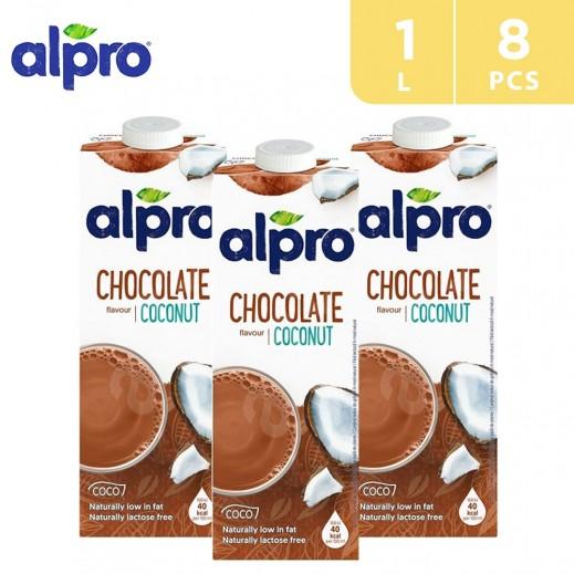 Alpro Cocount Chocolate 8 x 1 L