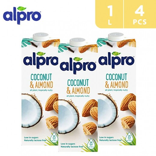 Alpro Coconut Almond 4 x 1 L