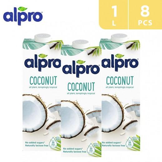 Alpro Original Coconut 8 x 1 L