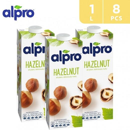 Alpro Hazelnut Original 8 x 1 L
