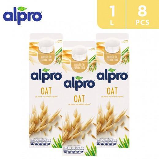 Alpro Oat Original 8 x 1 L