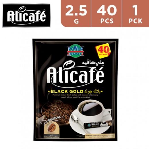 Ali Café Black Gold Coffee 40X2.5 g