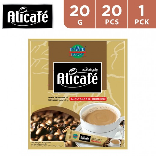 Ali Café 5 In 1 Instant Coffee 20x20 g
