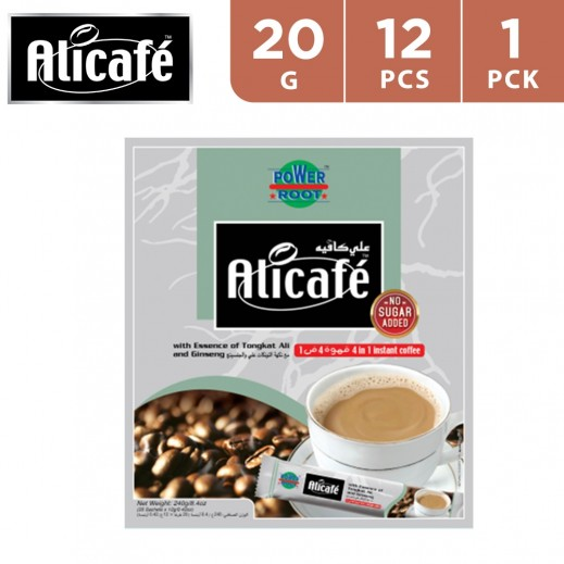 Ali Cafe 4 In 1 Coffee 12x20 g