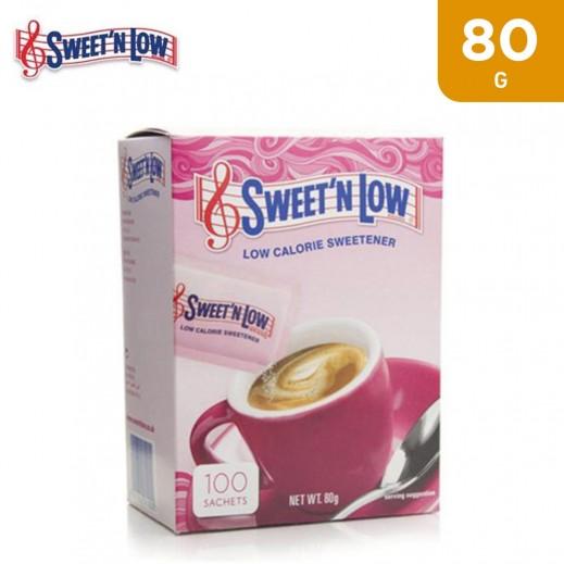 Sweet N Low Calorie Sweetener 100 Sachets 80 g