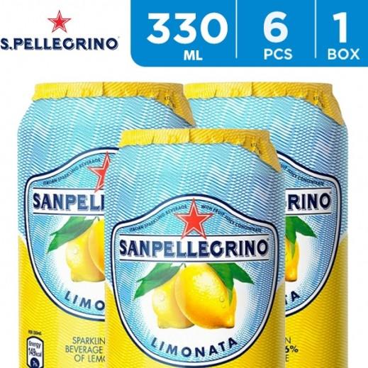 San Pellegrino Sparkling Lemon Juice 6 x 330 ml