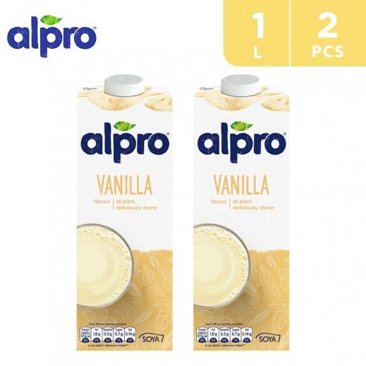 Alpro Soya Vanilla 2 x 1 L