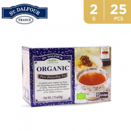 St.Dalfour Organic Pure Darjeeling Tea 2 g (25 Sachet)