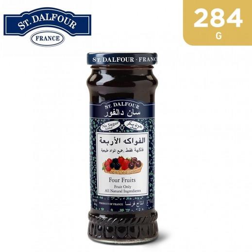 St.Dalfour Four Fruit Jam 284 g