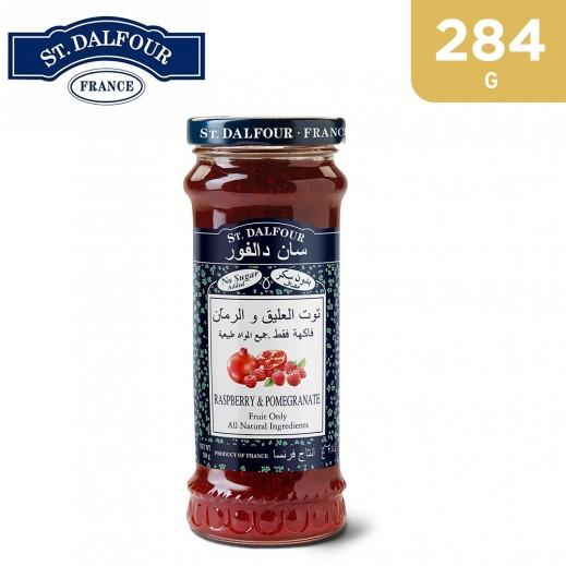 St.Dalfour Rasepberry & Pomegrante Jam 284 g