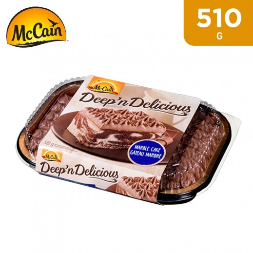 McCain Deep n Delicious Marble Cake 510 g