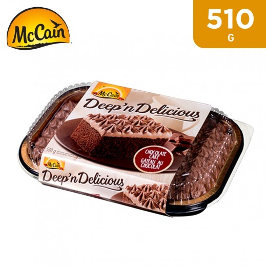 McCain Deep n Delicious Chocolate Cake 510 g