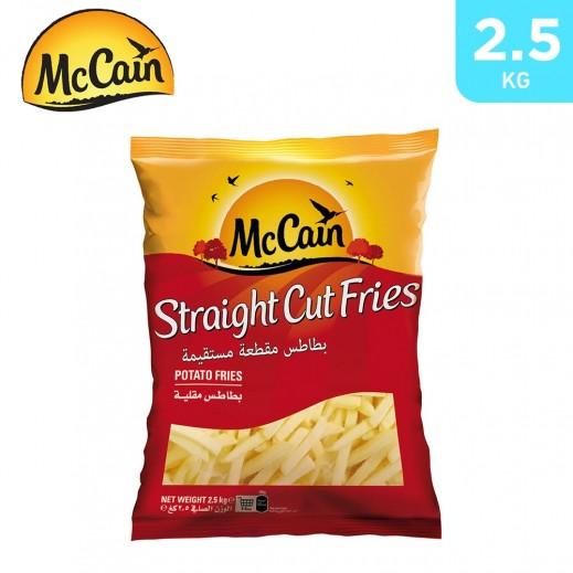 McCain Straight Cut Potato Frites 2.5 kg