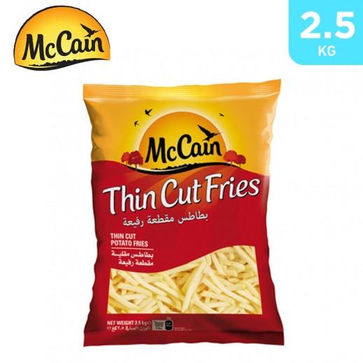 McCain Thin Cut Potato Frites 2.5 kg