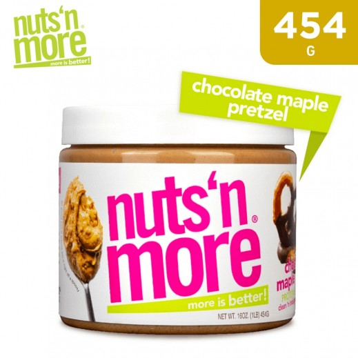 Nuts 'N More  High Pro Peanut Chocolate Maple Pretzel 454 g