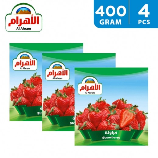Al Ahram Frozen Strawberry 4 x 400 g