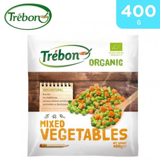 Trebon Frozen Organic Mixed Vegetables (400 g)