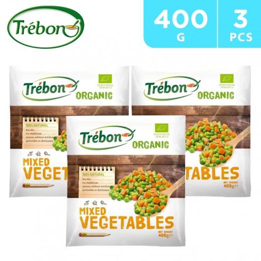 Trebon Organic Mixed Vegetables 3 x 400 g