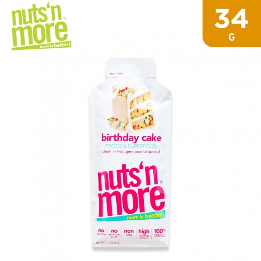 Nuts N More Protein Superfood Birthday Cake Spread 34 g