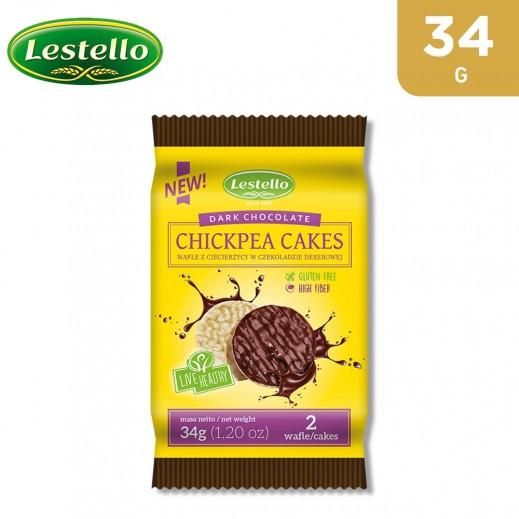 Lestello Gluten Free Dark Chocolate Chickpea Cakes 34 g