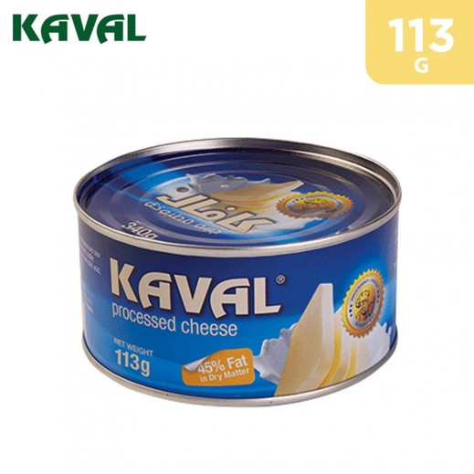 Kaval Processed Cheese With Vegetable Oil Can 113 g