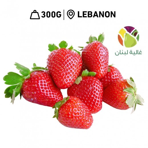 Ghalyat Lobnan Fresh Strawberries (300 G Approx)