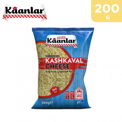 Kaanlar Shredded Kashkaval Cheese 200 g