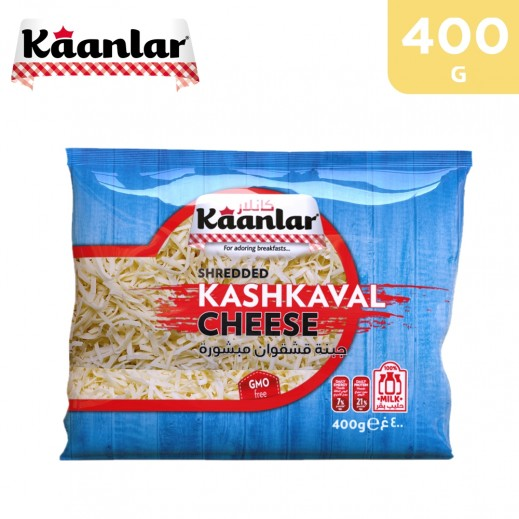 Kaanlar Shredded Kashkaval Cheese 400 g
