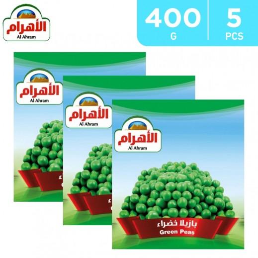 Al Ahram Frozen Green Peas 5 x 400 g