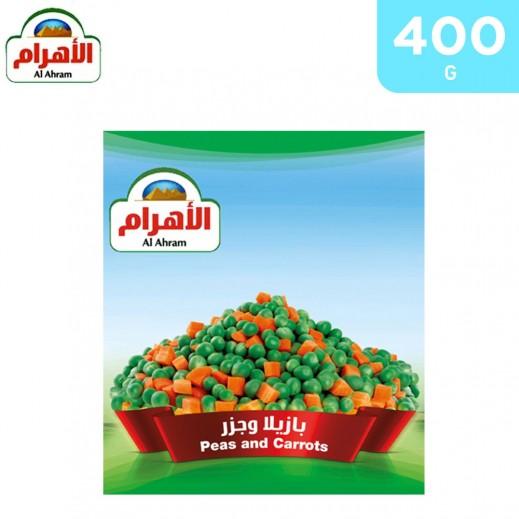 Al Ahram Frozen Peas & Carrots 400 g