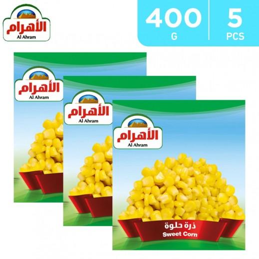 Al Ahram Frozen Sweet Corn 5 x 400 g