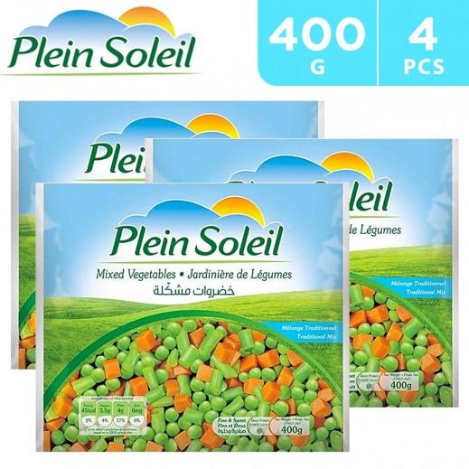 Plein Soleil Frozen Mixed Vegetables 4 x 400 g