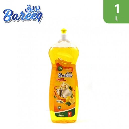 Bareeq Lemon Dishwashing Liquid 1 L