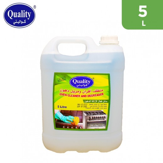 Quality Oven Cleaner And Degreaser 5 L