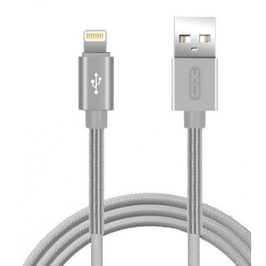 XO Fast Charging Lightning Cable 1M –Grey