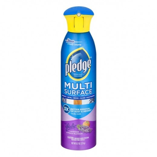 Pledge Multi Surface Deveryday Cleaner with Lavender & Peach Blossom 274 g