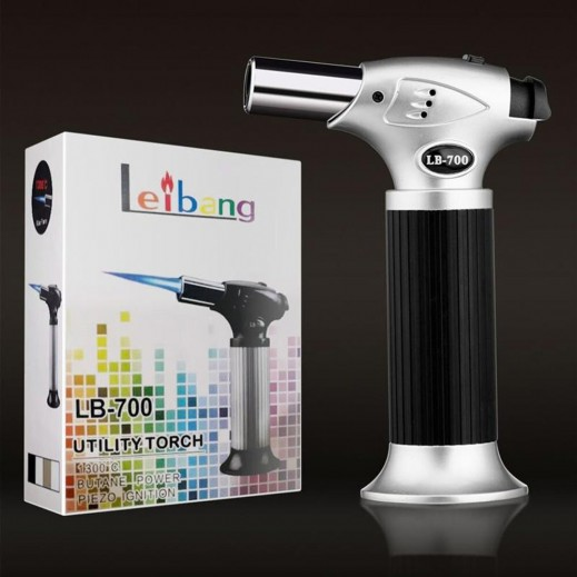 Leibang Gun Shape Cigar and Charcoal Lighter