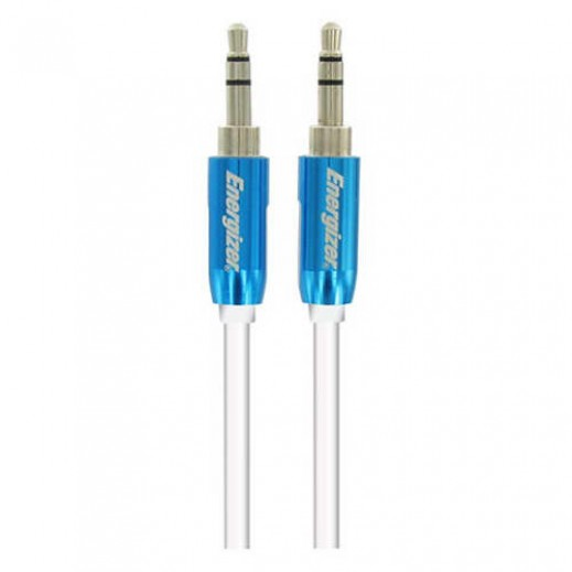 Energizer Audio Stereo Cable Metal Serie For Mobiles 1.5m Blue