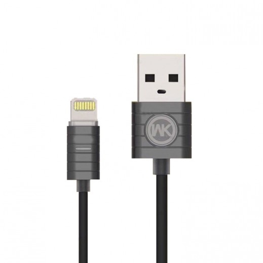 WK Design Lightning Cable for Apple 1 M - Tarnish