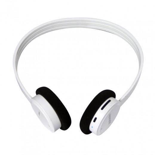 Promate Limber Ultralight/Super-Slim Wireless Stereo Headset White