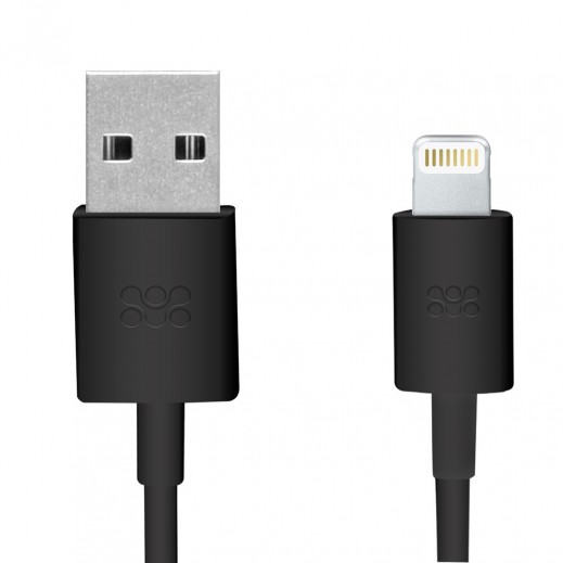 Promate Linkmate Apple MFI Certified Lightning Cable 1.2m Black