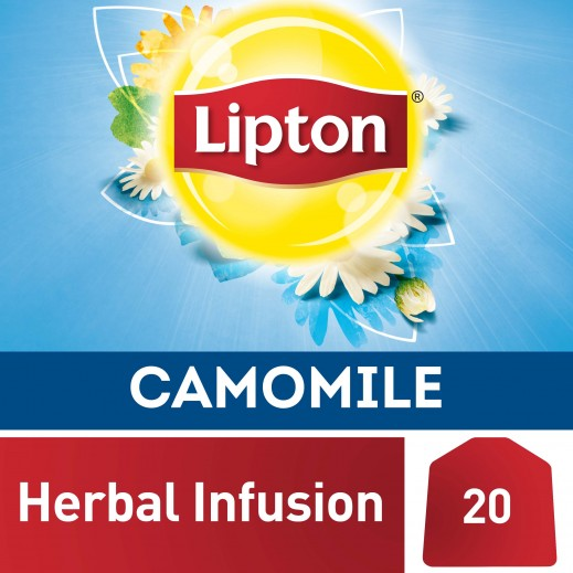 Lipton Herbal Infusion Tea Camomile 20 Tea Bags