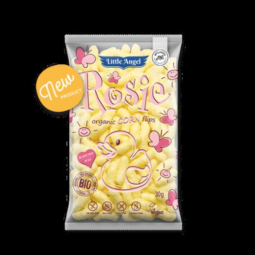 Little Angel Rosie Organic Gluten Free Corn Hips Snack 30 g