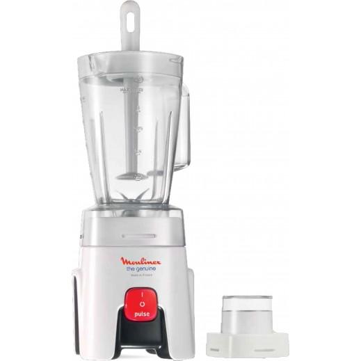 Moulinex 450 W 1.25 L Blender - White