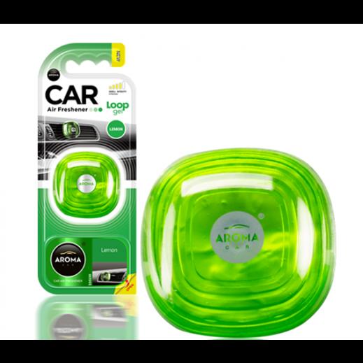 Aroma Car Gel Freshener - Lemon