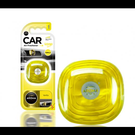 Aroma Car Gel Freshener - Vanilla
