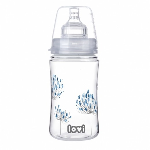 Lovi Safe For Breastfeeding Botanic Trends Bottle 240 ml 3+ Months
