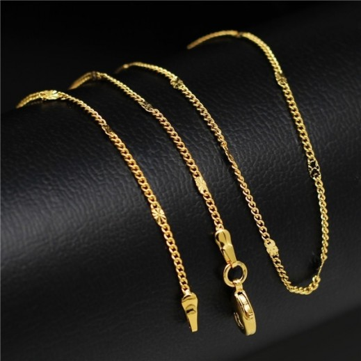 Helen Gold-Plated Environmental Friendly Copper Alloy Necklace