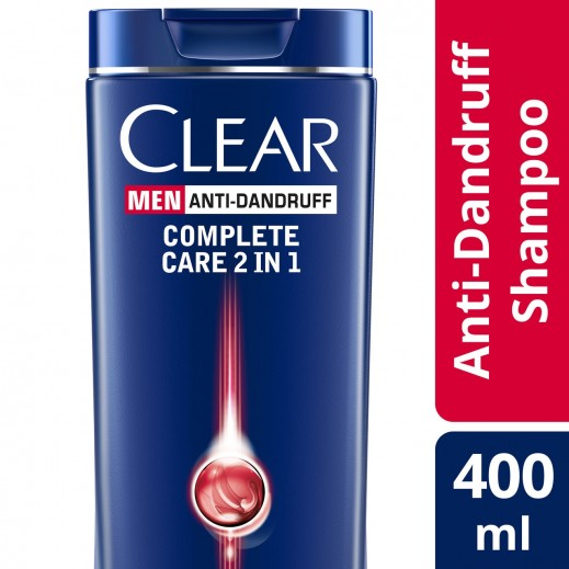 Clear Men's Anti-Dandruff Shampoo Style Express 2in1 400 ml